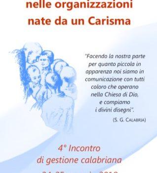 4° INCONTRO DI GESTIONE CALABRIANA