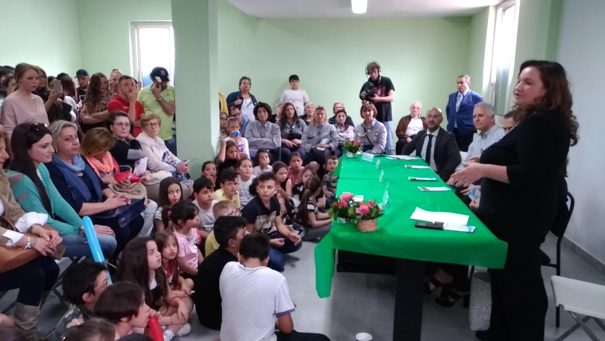 Festa Ad Afragola Napoli Delegazione Europea San Giovanni Calabria
