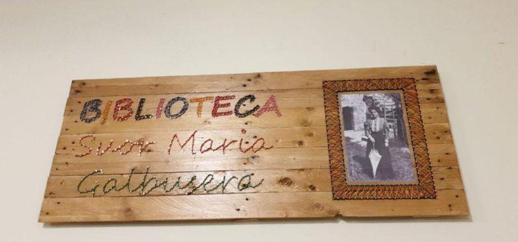 "INAUGURAZIONE BIBLIOTECA ""SUOR MARIA GALBUSERA"" A LAMEZIA TERME"
