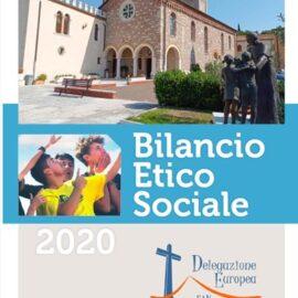 BILANCIO ETICO SOCIALE DELEGAZIONE EUROPEA 2020